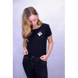 "T-shirt ""white logo"" women"